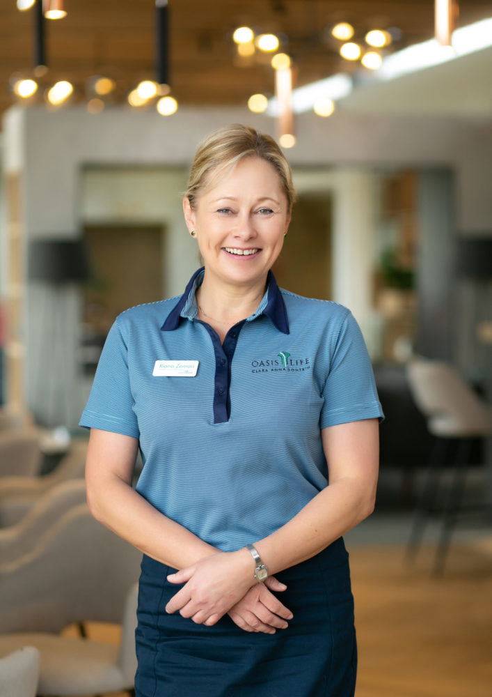 Riana Zeman, Healthcare Manager