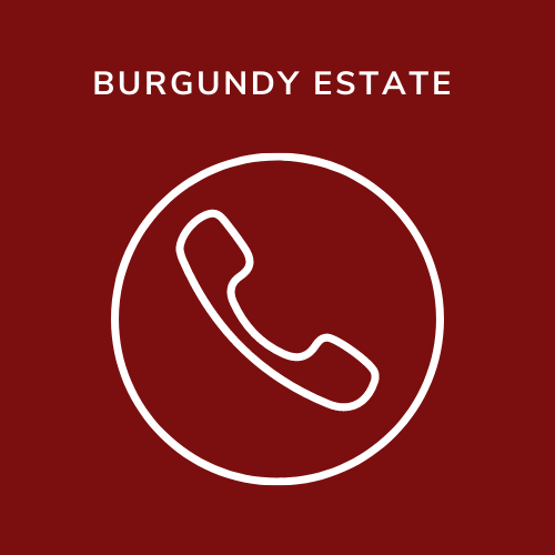 burgundy estate phone